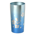 Titanium Double-Wall Tumbler - PREMIUM  (Pastel Sky)