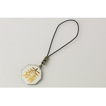 Titanium Cell Phone Strap - Samurai Insignias  (Ishida Mitsunari)