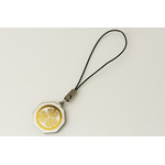 Titanium Cell Phone Strap - Samurai Insignias  (Tokugawa Ieyasu)