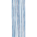 Wild Stripes - Tenugui (Japanese Multipurpose Hand Towel) - Blue