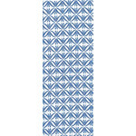 Origami Cranes - Tenugui (Japanese Multipurpose Hand Towel) - Cerulean