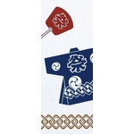 Summer Scenes - Tenugui (Japanese Multipurpose Hand Towel) - Festival
