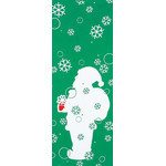Santa - Mini Tenugui (Japanese Multipurpose Hand Towel)