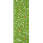Dragonflies in the Autunm - Mini Tenugui (Japanese Multipurpose Hand Towel) - Green