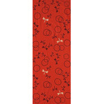 Dragonflies in the Autunm - Mini Tenugui (Japanese Multipurpose Hand Towel) - Red