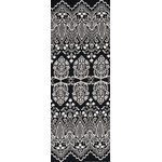 Lace - Tenugui (Japanese Multipurpose Hand Towel) - Black