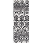 Lace - Mini Tenugui (Japanese Multipurpose Hand Towel) - White