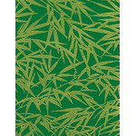 Bamboo - Mini Tenugui (Japanese Multipurpose Hand Towel) - Deep Green
