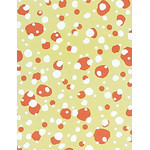 Winter Scenes - Mini Tenugui (Japanese Multipurpose Hand Towel) - Yellow