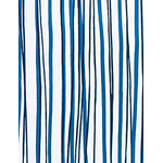 Wild Stripes - Mini Tenugui (Japanese Multipurpose Hand Towel) - Blue