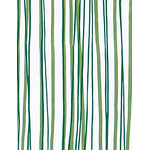 Wild Stripes - Mini Tenugui (Japanese Multipurpose Hand Towel) - Green
