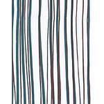 Wild Stripes - Mini Tenugui (Japanese Multipurpose Hand Towel) - Crimson