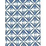 Origami Cranes - Mini Tenugui (Japanese Multipurpose Hand Towel) - Cerulean