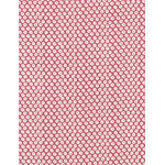 Deer Back - Mini Tenugui (Japanese Multipurpose Hand Towel) - Red