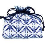 Origami Cranes Kinchaku (Drawstring Bag)
