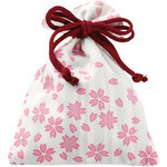 Sakura Kinchaku (Drawstring Bag)