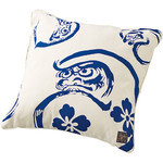 Daruma Cushion  - Blue