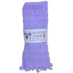 Natural Stretchy Scarf  - Violet
