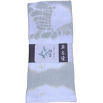 Naturally Dyed Double Gauze Towel  - Green Tea