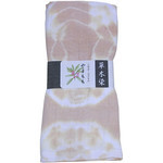 Naturally Dyed Double Gauze Towel  - Moutain Peach Gold