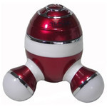 BurrrRela Relaxing Massager with Glowing Lights (Red)