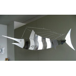 MOBIO Swordfish Hanging Mobile (Silver)