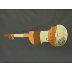 MOBIO Violin Hanging Mobile (Copper/Gold)
