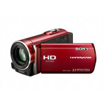 Sony HDR-CX150E(JE) High Definition Internal Memory Camcorder (Red)