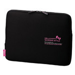 ELECOM Hello Kitty Laptop Inner Bag (Black)