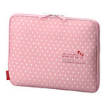 ELECOM Hello Kitty Laptop Inner Bag (Polka Dot)
