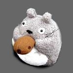 Ocarina-Playing O-Totoro Plush Mascot
