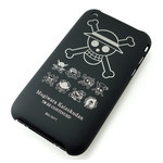 iPhone 3G/3GS Shell Jacket One Piece Jolly Roger (Black)