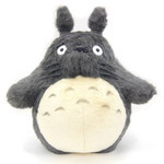 O-Totoro Plush Dark Gray (XL)
