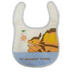 Baby bib Neko-bus(Cat bus) Polka Dot Pocket