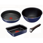 Tefal (T-fal) - INGENIO Stackable Cookware Set  (Sapphire Mini Trio)