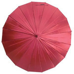 mabu - Ultralight 16 Rib Umbrella Irodori (Ruby)