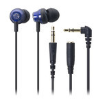 Audio-Technica - ATH-CKM33 Earbuds (BL)