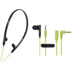 Audio-Technica - ATH-CKP330 Ladies 2-Way Sports Earbuds (BGR)