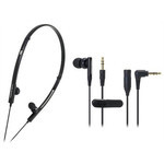 Audio-Technica - ATH-CKP330 Ladies 2-Way Sports Earbuds (BK)