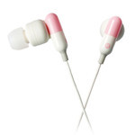 ELECOM - Sundries Drugs - Capsule Style Earphones EHP-CIN50PN (Pink)