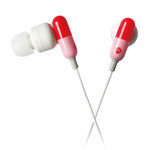 ELECOM - Sundries Drugs - Capsule Style Earphones EHP-CIN50RD (Red)