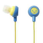 ELECOM Canal-Type Earphones EHP-IN10F1 (Smiley 1)