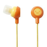 ELECOM Canal-Type Earphones EHP-IN10F2 (Smiley 2)