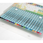 Deliter - NEOPIKO4 Brush Ink Pens (20 Color Set)