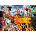 "One Piece - ""Fire Fist"" Ace 500 Piece Jigsaw Puzzle"
