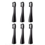 Panasonic - Pocket DOLTZ Replacement Brushes Set of 6 (Black)