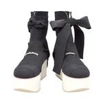 BELLY BUTTON No.921 / Black Platform Boots