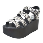 BELLY BUTTON No.130 / Cheetah Platform Sandals