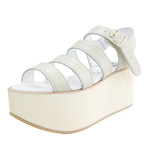 BELLY BUTTON No.930 / Ivory Platforms