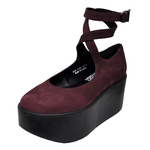 BELLY BUTTON No.871 / Purple Nubuck Shoes